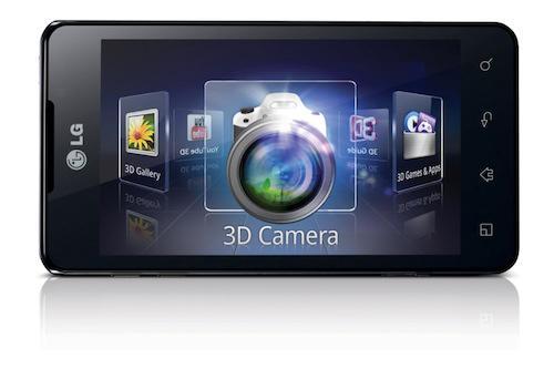 LG Optimus 3D Max P725 Black