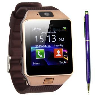 Bộ đồng hồ thông minh Smart Watch Uwatch DZ09 (Vàng) và Viết cảm ứng