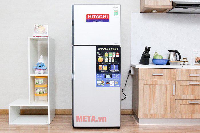 Tủ lạnh Hitachi R-H310PGV4 (260 lít) Inox
