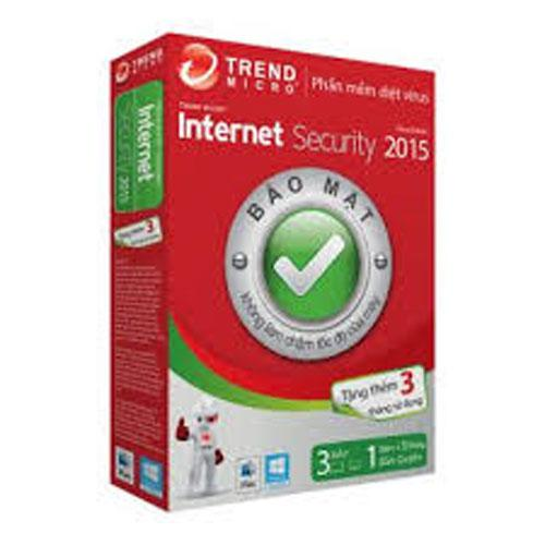 _Phần mềm diệt virus TrendMicro Internet Security 2016(1User) 3PC - 1year