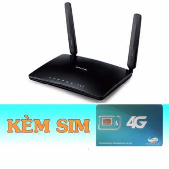 TL-WR6400 | Bộ phát wifi 4G TL-MR6400 tốt nhất của Tp-link+Sim 4G Mobifone Tài Khoản Khủng Có Ngay 6...