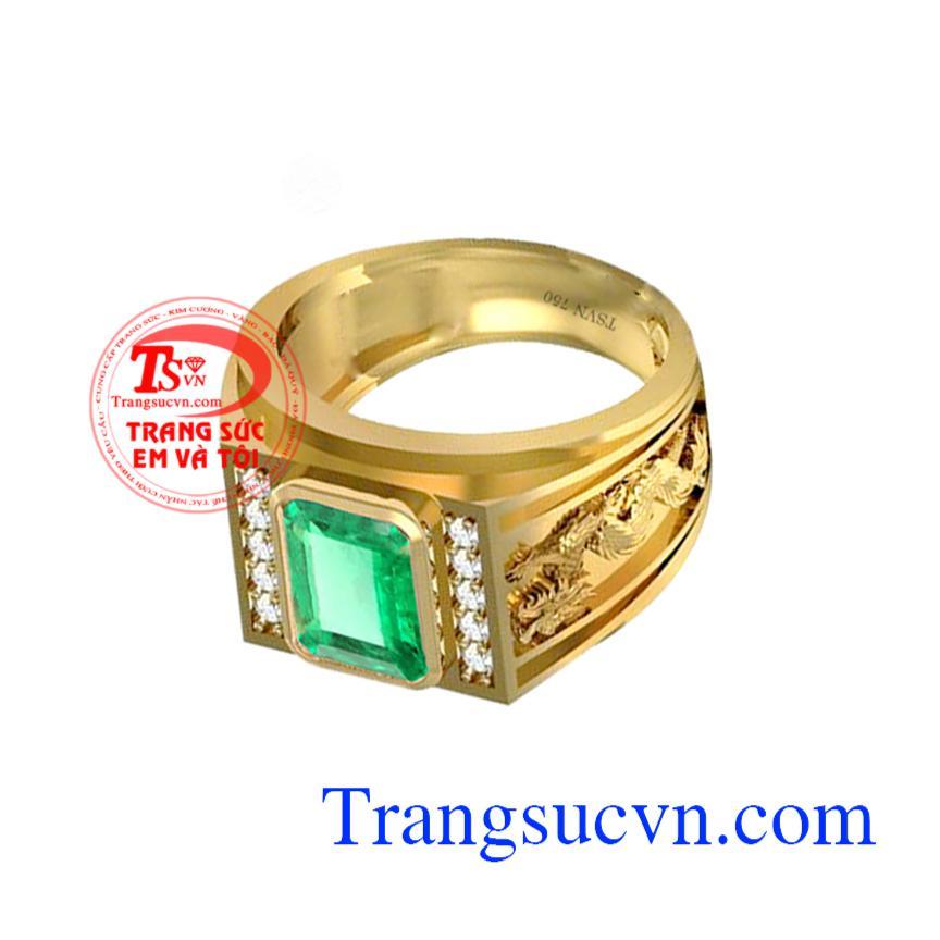 Nhẫn Nam Ngọc Lục Bảo