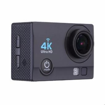 Camera hành động Waterproof 4K Sports WIFI LED 4K ULTRA HD (Đen)
