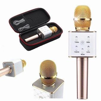 Micro hát Karaoke Q9 kèm loa Bluetooth