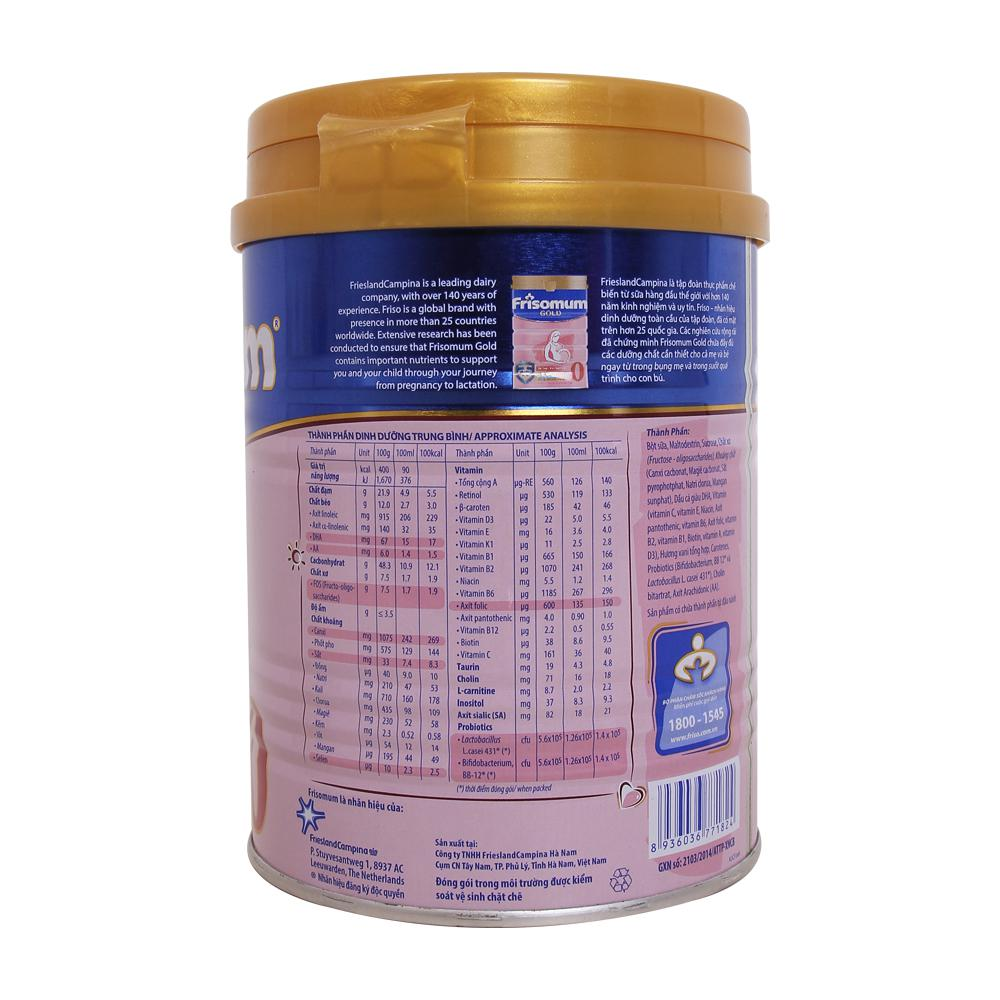 Sữa Frisomum Gold hương Vani - 400g