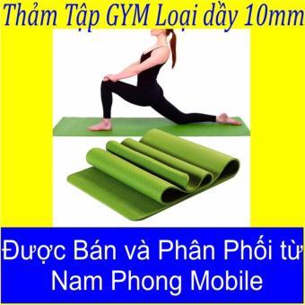 Thảm tập Yoga siêu bền loại dày 10mm ( Sản Phẩm 2017 )