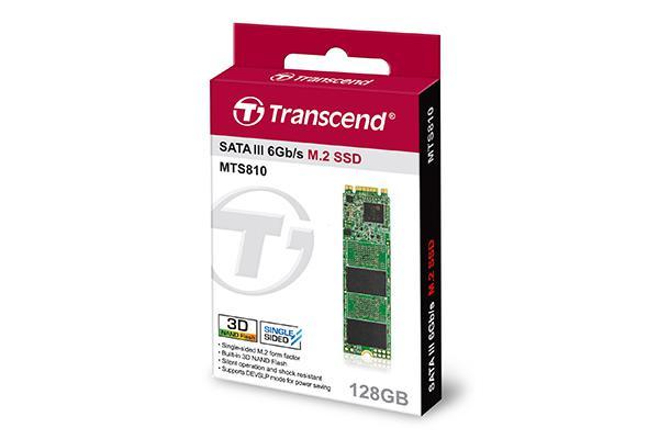 Ổ cứng SSD Transcend  M.2 SATA  128GB TS128GMTS810