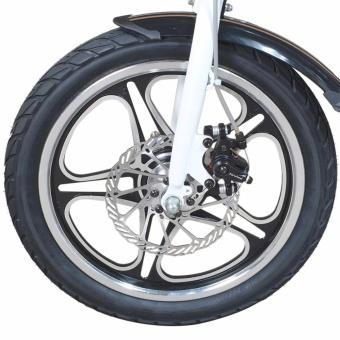 Xe đạp điện gấp thông minh airwheel R5 (trắng)