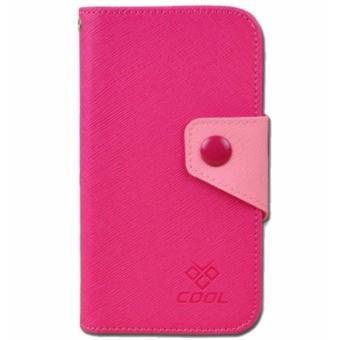 Bao da Generic cho Meizu MX6 (Meizu Note 3) Case Rainbow (Đỏ hồng)