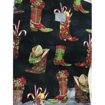 Vải thô giày Giáng Sinh