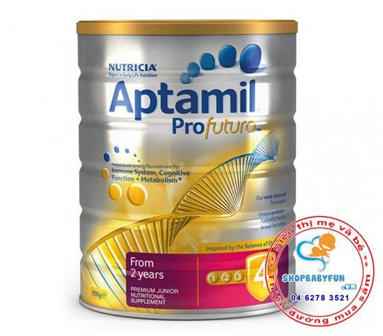Sữa Aptamil Profutura 4 -Cho bé từ 2 tuổi trở lên