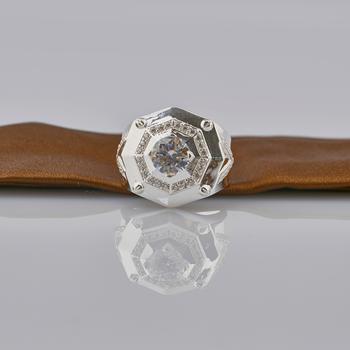 Nhẫn nam đính đá cao cấp Opal RM_11