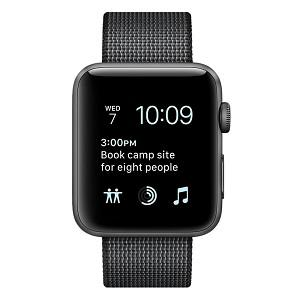 Đồng Hồ Thông Minh Apple Watch Series 2 - 42mm Space Grey Aluminium Case With Black Woven Nylon Band...