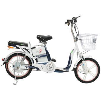 Xe đạp điện HK Bike ZINGER COLOR2 (Xanh Tím Than Galaxy)