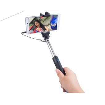 Gậy chụp hình selfie monopod (Đen phối vàng)