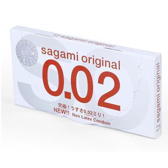 Bao Cao Su Sagami Original 0.02 - Hộp 2 Bao