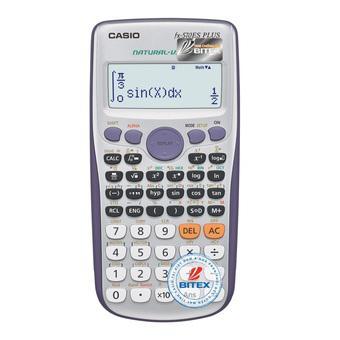 Máy tính Casio FX 570ES Plus (Xám)