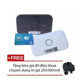 Thiết bị phát wifi từ sim 4G/3G Huawei E5573 tốc độ cao, giá rẻ + Sim 4G Viettel Tặng kèm giá để điệ...