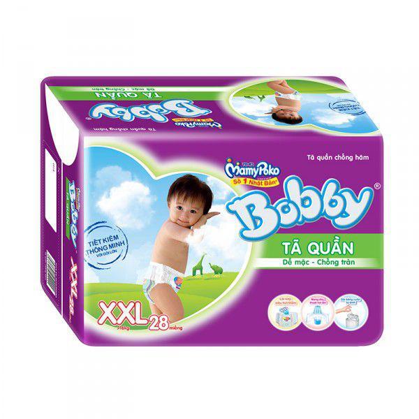 Tã quần Bobby XXL 28