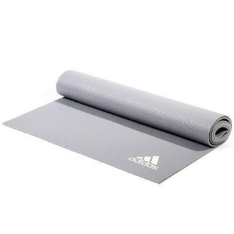 Thảm tập Yoga Adidas chất liệu cao su tổng hợp TPE có độ dày 4mm (Xanh)
