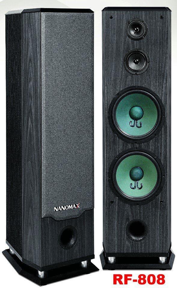 LOA ĐỨNG CAO CẤP NANOMAX RF-808 (680W , 2 Bass 25)