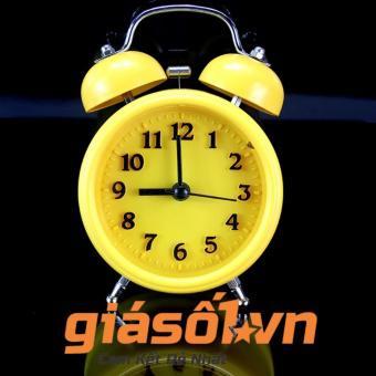Đồng hồ báo thức để bàn - 2863 (Vàng)