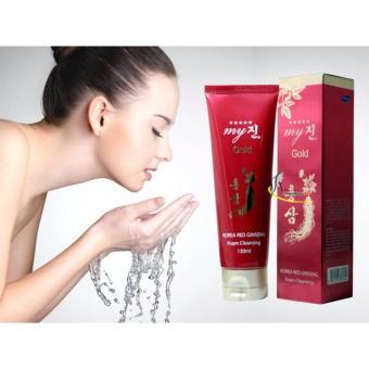 Sữa rửa mặt hồng sâm đỏ My Gold Korea Red Ginseng Foam Cleanser 130ml