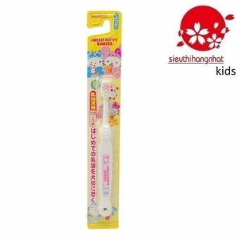 Bàn chải đánh răng Hello Kitty B-S10 Cho Trẻ Từ 0,5-3 tuổi (Trắng)