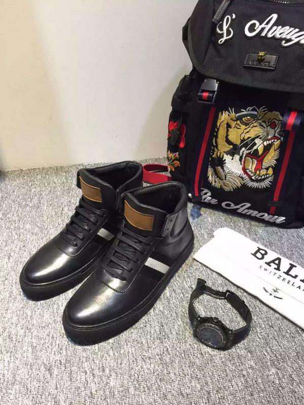 giày nam cao cổ bally 0073