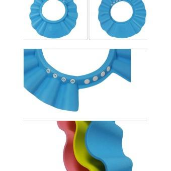 Bộ 2 mũ gội đầu chăn nước có vành tai cho bé