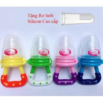Túi nhai ăn dặm chống hóc GB Baby cho bé yêu + Tặng 01 rơ lưỡi silicon