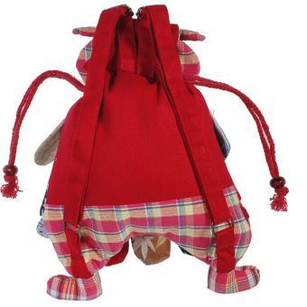 Kid Children Colorful Owl Bird Animal Cartoon SchoolBag Backpack Bag Mochila - intl