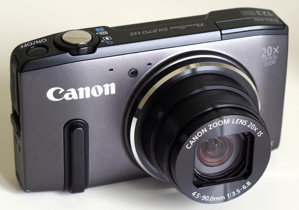Canon Powershot SX270 HS / Bạc - Máy ảnh