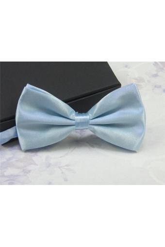 Classic Fashion Men Wedding Tuxedo Bowtie Necktie Adjustable Bow Tie Solid Multi-Color - intl