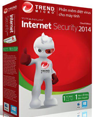 Trend Micro Titanium Maximum Security 2014 1PC - Box