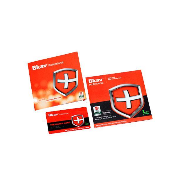 Thẻ diệt virus BKAV Pro (1 năm / 1 máy)