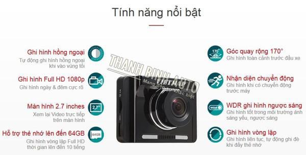 Camera hành trình Vietmap IR22 tặng PMH 100k