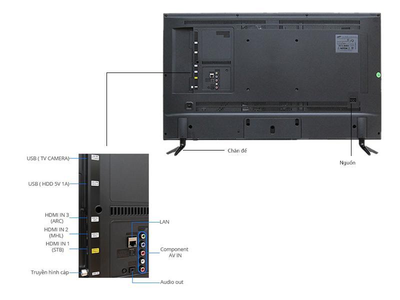 TIVI LED SAMSUNG UA65JU6000 65INCH