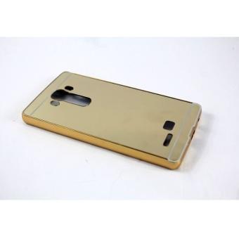 Ốp lưng cho LG G4 nguyên khối gương (Vàng)