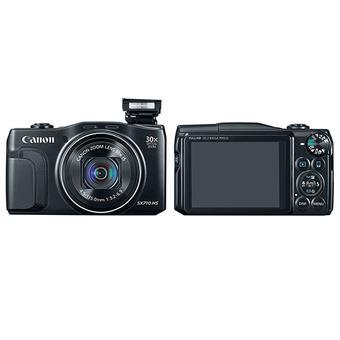 Máy ảnh Canon PowerShot SX710 Đen