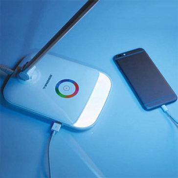 Đèn Bàn Led Cảm Ứng Cao Cấp Tiross TS1805 (Thiết Kế Cổng USB) Chống Cận Thị