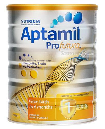Sữa Aptamil Profutura 1 (Úc) (900g) (0-6 tháng tuổi)