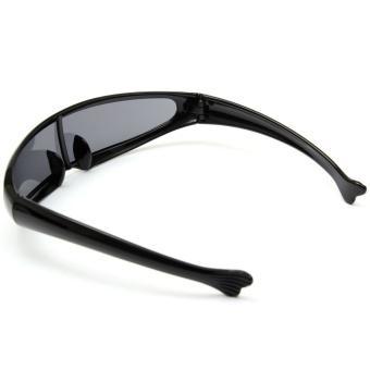Cyclops Sunglasses Shades Sunnies Mirror Dark Space Robot Alien Shield Costume (Intl)