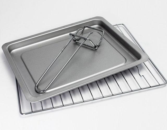 Lò nướng bằng thanh nhiệt Tiross 14L, 1200W