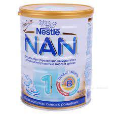 Sữa NAN NGA 1 từ  6 -12 tháng  hộp thiếc 800g