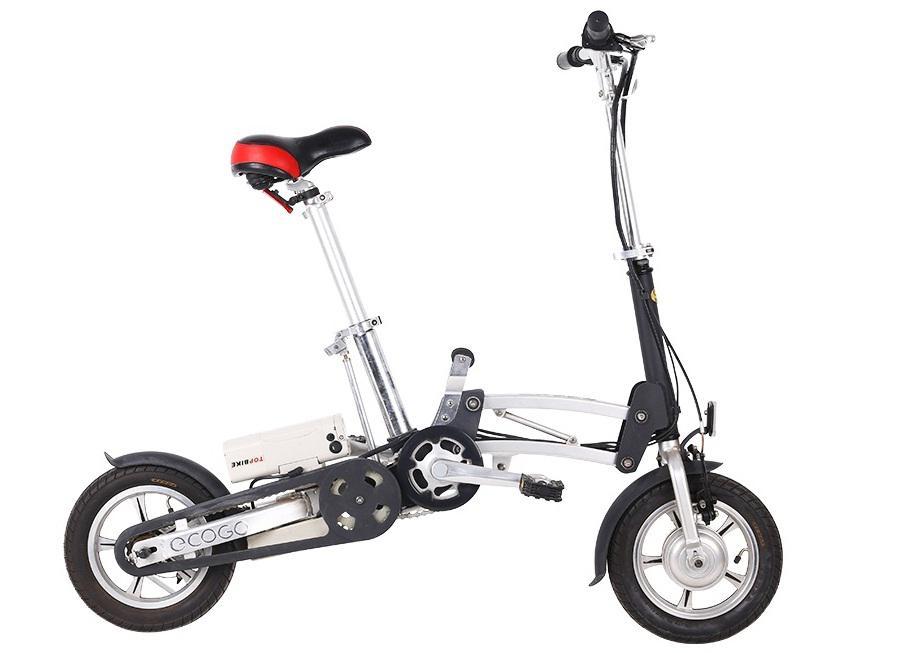 Xe đạp điện gấp ECOGO BIZ ĐEN