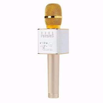 Micro hát Karaoke Q9 kèm Loa Bluetooth 3 trong 1