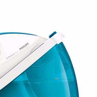 Bàn ủi hơi nước Philips GC7035 (Xanh) - Hãng Phân Phối Chính Thức + Tặng 1 đế bàn ủi và 1 lò nướng