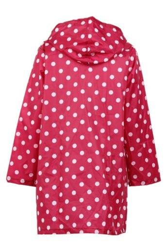 Lalang RainCover Raincoat Rain Waterproof Poncho (Red)