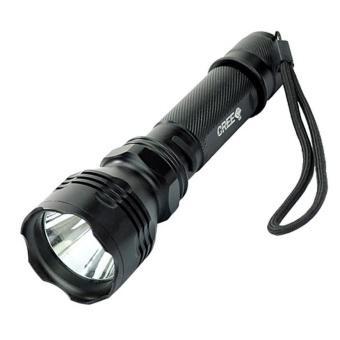 Đèn Pin LED Siêu Sáng Smartled HUOYI HY-C6 (Đen)